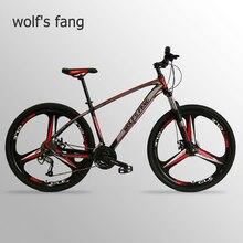 Wolfs fang rower górski rower ze stopu aluminium 27 prędkości 29 cali rowery szosowe bmx mtb śnieg gruby rower plaża rowery nowy człowiek