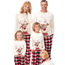 Pants Outfits Christmas-Pajamas Family Matching Family-Look Daughter Daddy Mommy Pattern