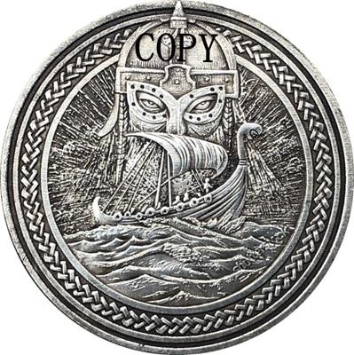 Hobo Nickel USA Morgan Dollar COIN COPY Type 172