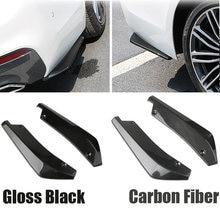 2 шт Универсальный Автомобильный задний бампер для губ Угловые