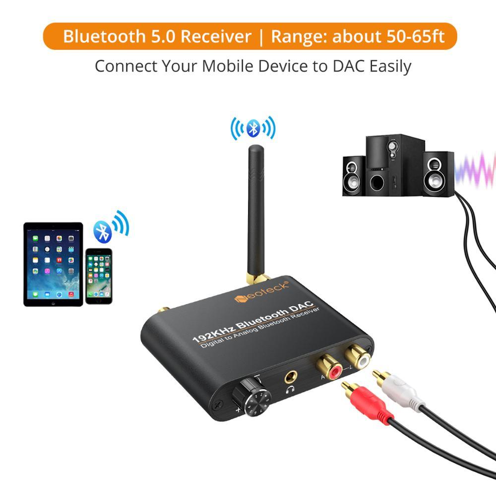 ממיר אודיו מדיגיטלי לאנלוגי DAC Neoteck  4