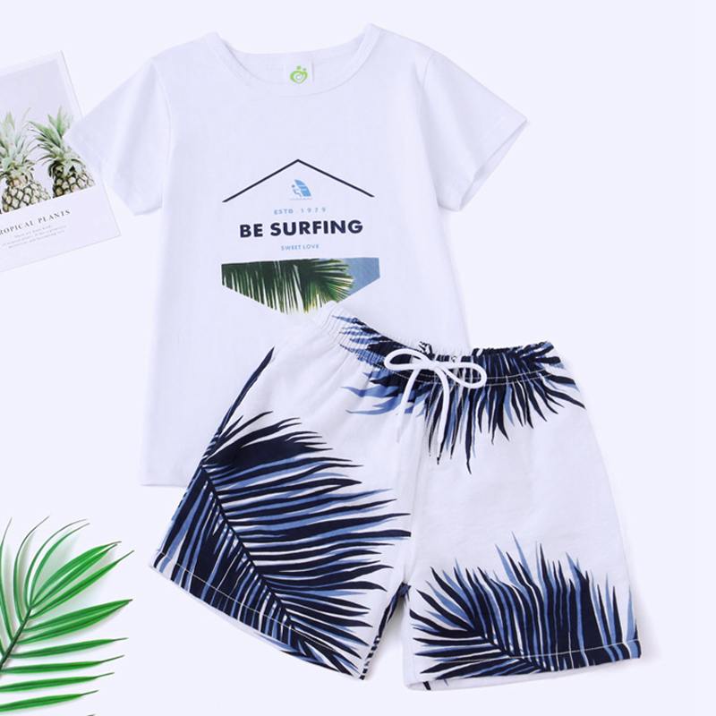 Hb65caaf73bb1494a876065b36939f4861 - Summer Family Matching Outfits Mother Daughter Beach Vocation Dresses Summer Dad Son T-shirt+Shorts Couples Matching Clothing
