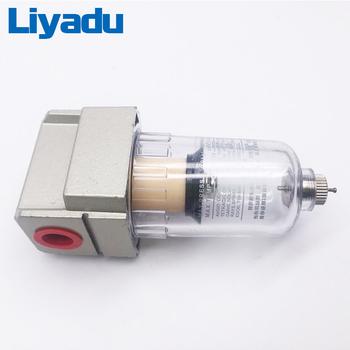 AF2000-02 źródło procesor miedziany filtr filtr pompy powietrza olej i separator wody elementy pneumatyczne sprężarka powietrza tanie i dobre opinie liyadu Urządzenie do obróbki źródłem 5-60℃ 1 5MPa 1 0MPa polycarbonate