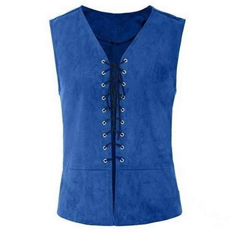 Litthing мужской Средневековый Ренессанс эдвардиан стимпанк жилет винтажный Готический пиджак-фрак Косплей Костюм