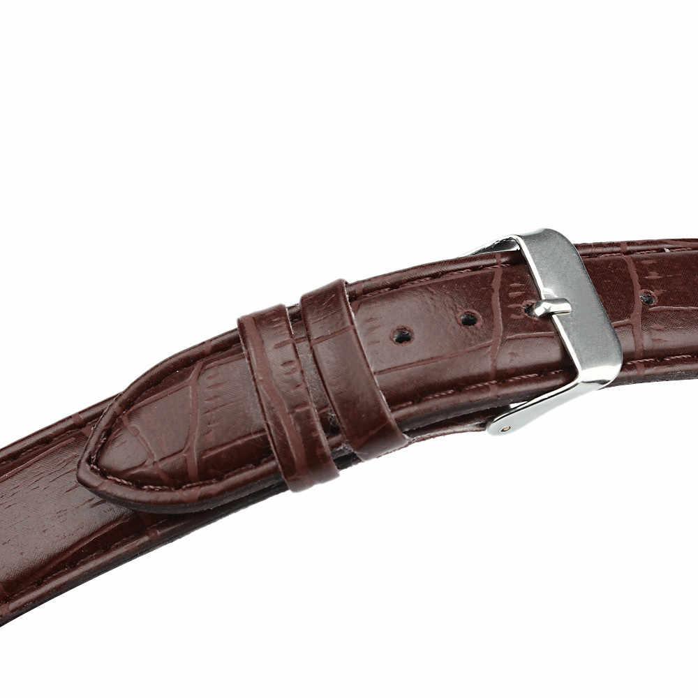 OTOKY 20 мм кожаный ремешок для часов мужской ремешок для женщин ремешок для часов Ремешок для часов кожаный браслет часы ремень 19Sep29