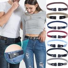 Fivela-livre cinto de cintura para calças de brim, sem fivela estiramento elástico cinto de cintura para mulher/homem sem protuberância sem problemas cinto de cintura # np30