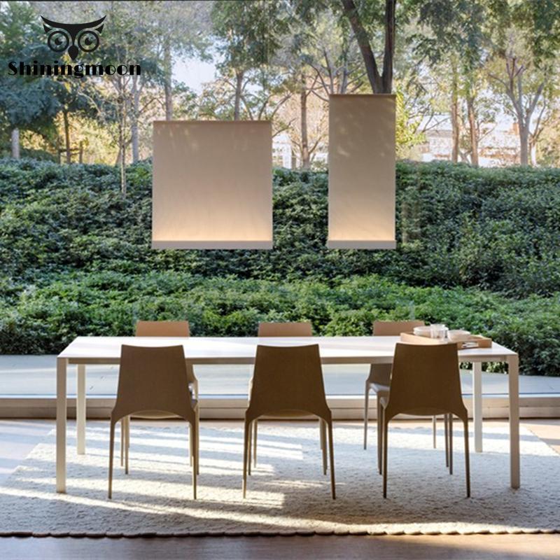 Modern Fashion Led Pendant Lights Chinese Classical Creativity Fabric Deco Pendant Lamp Restaurant Kitchen Cafe Lighting Fixture