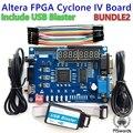 2020 ALTERA Cyclone IV EP4CE6 FPGA макетный комплект Altera EP4CE NIOSII FPGA Board и USB Blaster downloader