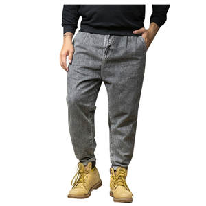 Jeans Men Pants Skate-Board Stright Pocket Summer Fashion Long Casual Plus-Size