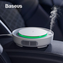 Baseus 2in1 Car Air Purifier Humidifier Negative Ions Cleaner Ionizer with Filter Remove PM2.5 Formaldehyde for Home