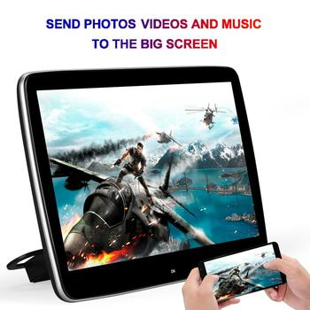 11.6 Inch Android 7.1 2GB+16GB octa core Car Headrest Monitor IPS Screen 1080P MP5 for Mercedes Benz image