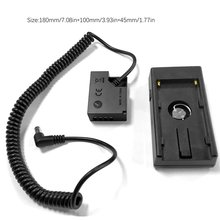 NP-F970 F750 F550 Battery Holder Mount Plate With W126 Power Connector For Fujifim Camera Gusset + Fake