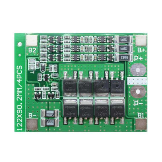 Tarjeta PCB de protección 3S 12,6 V 25A 18650 Li-ion baterías de litio BMS con equilibrio