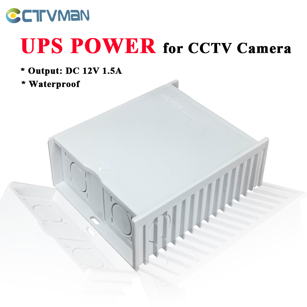 Image 1 - CTVMAN DC 12V Power Supply Waterproof 12V power adapter CCTV Power Supply 12v cctv camera powers box supply-in CCTV Accessories from Security & Protection