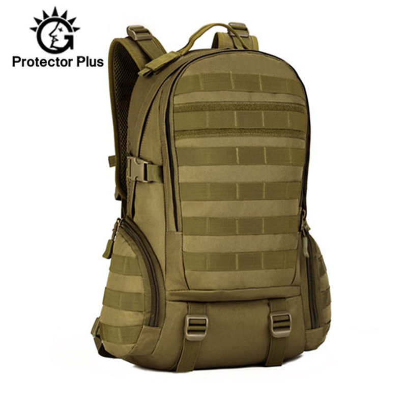<font><b>35L</b></font> Tactical Military <font><b>Backpack</b></font> Camping Assault Molle Sports Bags Mountaineering Hiking Trekking Camouflage Hunting Bag XA369WD image