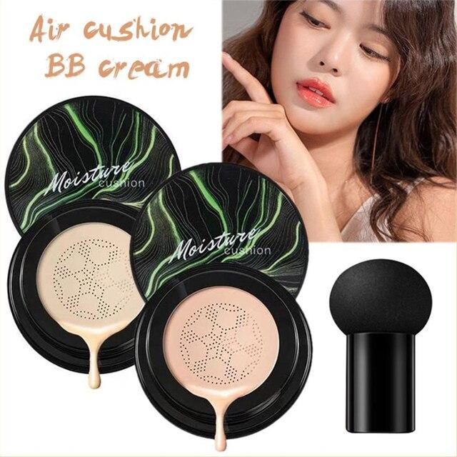 Mushroom Head Make up Air Cushion Moisturizing Foundation Air-permeable Natural Brightening Makeup Care BB Cream 6