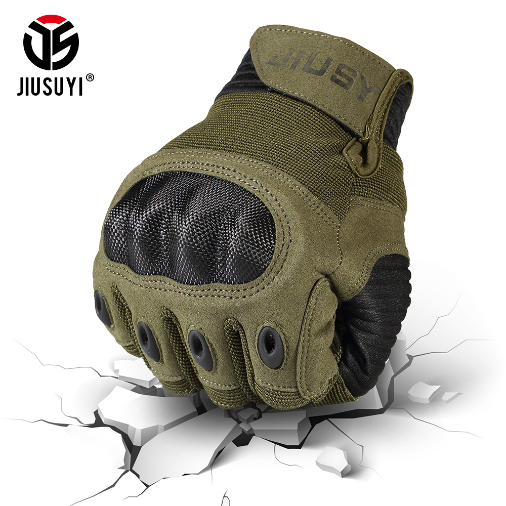 Tactical-Gloves Knuckle Bicycle Touch-Screen Full-Finger-Gloves Combat-Anti-Skid Army