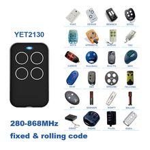 รีโมทคอนโทรลUniversal Multiความถี่Duplicate 280Mhzถึง 868Mhz 4 ช่องCommand HandzenderโรงรถประตูประตูKey fob