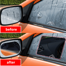 High Quality Car Rearview Mirror Protective Film Anti Fog Clear Rainproof Rear View Mirror Protective Soft Film Auto Accessories