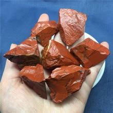 Minerals Tumbled-Stone Natural Crystal Red Jasper Specimen Chakra-Decor Gift Rock Rough