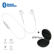 العالمي سماعات رياضية 3.5 مللي متر في الأذن بلوتوث سماعة الأذن سماعة رأس ستيريو مع Mic لسامسونج ل huawei ل Xiaomi