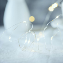 Cintilação estrela string luz festa de casamento casa decorações de jardim, fundo de fotografia