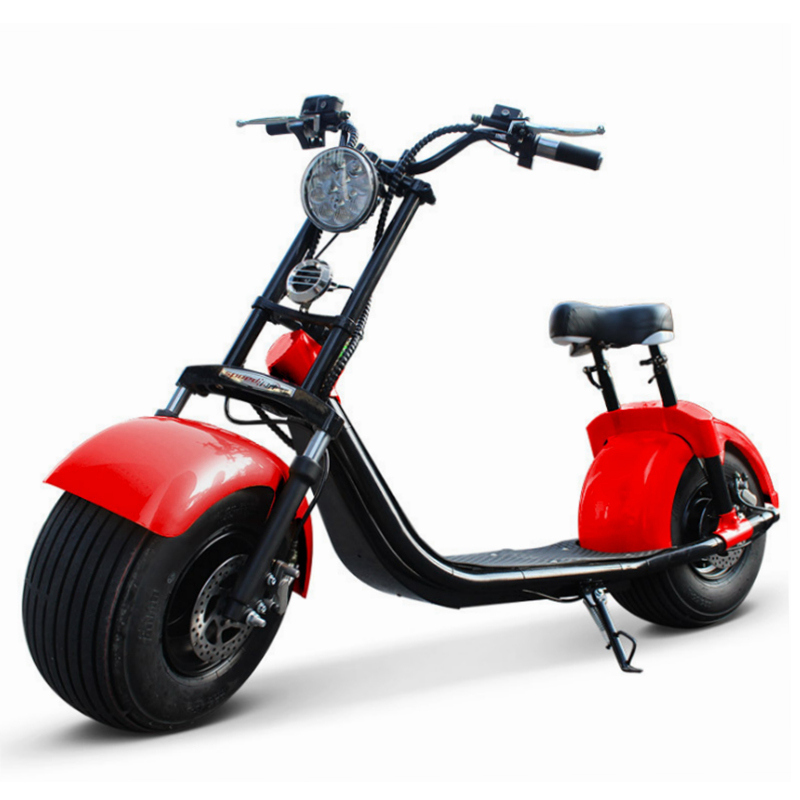 Good Quality Fatbike Low Price Red Ebike Fat Bicycle E Bike