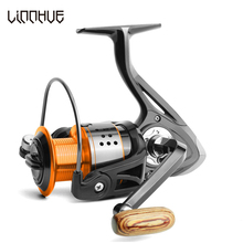 LINNHUE Spinning Fishing Reel 13+1 Bearing Seamless 8KG Pike Bass High Speed Metal Wheel Carp Baitcasting Tackle