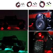 Sourcil de roue Lumière LED Décoration RC Voiture Accessoires pour 1/10 RC Chenille Traxxas TRX4 TRX6 G63 G500 Défenseur D110 Couleur Lumière