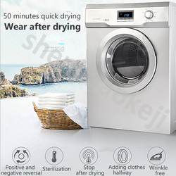 Inteligentny suszarka do ubrań 10kg automatyczny w suszarce typ ubrania suszarka sauna/Hotel ubrania sprzęt do suszenia 220v 1pc