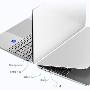 European Intel Notebook 15.6 inch Windows 10 Pro 1920*1080 Cheap Portable Laptop 12GB RAM 256GB/512GB/1TB SSD HDMI Port Laptop 2