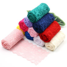 Ruban élastique en Spandex, 8cm, pour artisanat, couture, tissu extensible, matériel de tricotage, accessoires de vêtement, bricolage