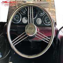 13-1/2 Stainless Steering Wheel Steel 316 Marine Grade 3 Spokes 15 Degree 9 Boat Yacht Accessories