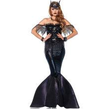 Disfraz de Ariel y sirena para mujer, disfraz de Cosplay para adulto, Princesa de Halloween, sirenita, C70838AD