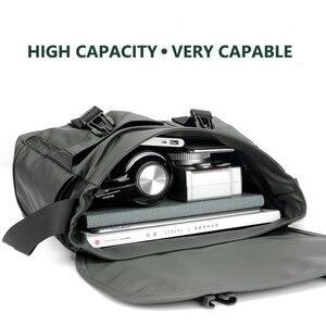 Image 5 - Mens Fashion Nylon Crossbody Bag Multifunctional Male Shoulder Messenger Bags Large Satchels Business Bolsa Masculina XA292ZC