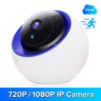 1080P IP camera wifi camera Baby Monitor with Motion Detection Tracking Security Camera, TF Card Record, 2 Way Audio YCC365