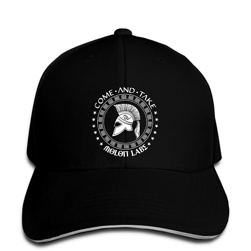 Simple D Men Baseball Cap Sons Of Libery Come And Take - Molon Labe Spartan . Men Baseball Cap. Made In Usa Snapback Cap