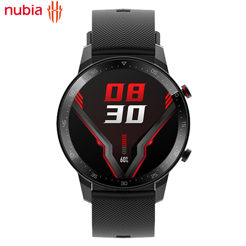 100% Original Nubia Redmagic Smart Watch 1.39 inch 30g Heart Rate Monitor Blood Oxygen 5ATM Waterproof Sport Swim Smartwatch