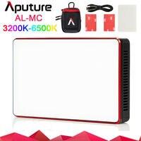 Aputure AL MC Portable LED Light 3200 6500K CCT Control mini RGB light Sidus Link app For Sony Canon Nikon