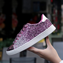Tleni Women's sneakers bright face fashion women's running shoes spring and summ