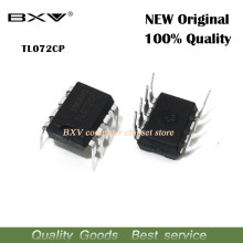 10pcs TL072CN TL072 TL072C TL072CP DIP-8 Operational Amplifiers - Op Amps Dual Low Noise JFET new original IC