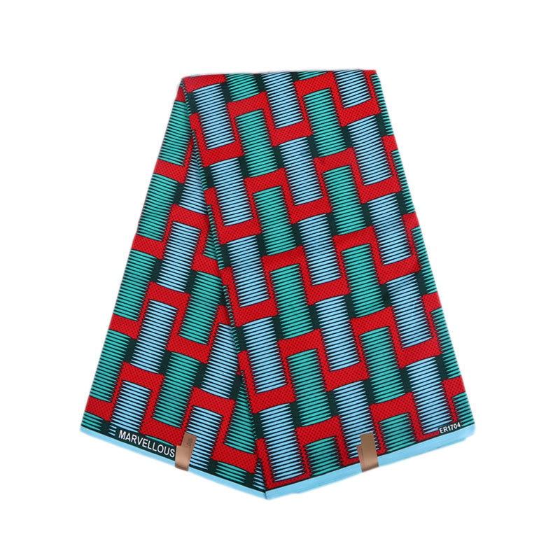 Ankara Fabric High Quality Holland Wax Fabric Wax Printed Cotton African Print Fabrics For Dress