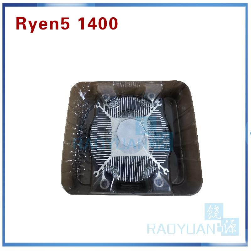 New AMD Ryzen 5 1400 R5 1400 R5 1400 3 2 GHz Quad Core CPU Processor New AMD Ryzen 5 1400 R5 1400 R5-1400 3.2 GHz Quad-Core CPU Processor YD1400BBM4KAE Socket AM4 with cooling fan