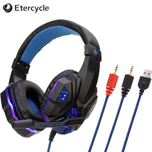 2019 new Wired Gaming Headset Game Earphone Professional Computer Gamer Headphone With Microphone E-sports headset for phone/PS4