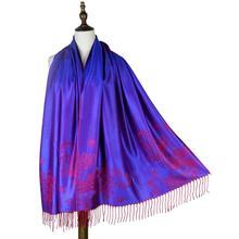 Jzhifiyer jacquard scarf rayon paisley floral mujer pashmina cotton women cape shawl luxury brand