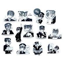 50 unids/pack Anime Baño-a Hanako-kun Anime Manga calcomanías de cristal LD