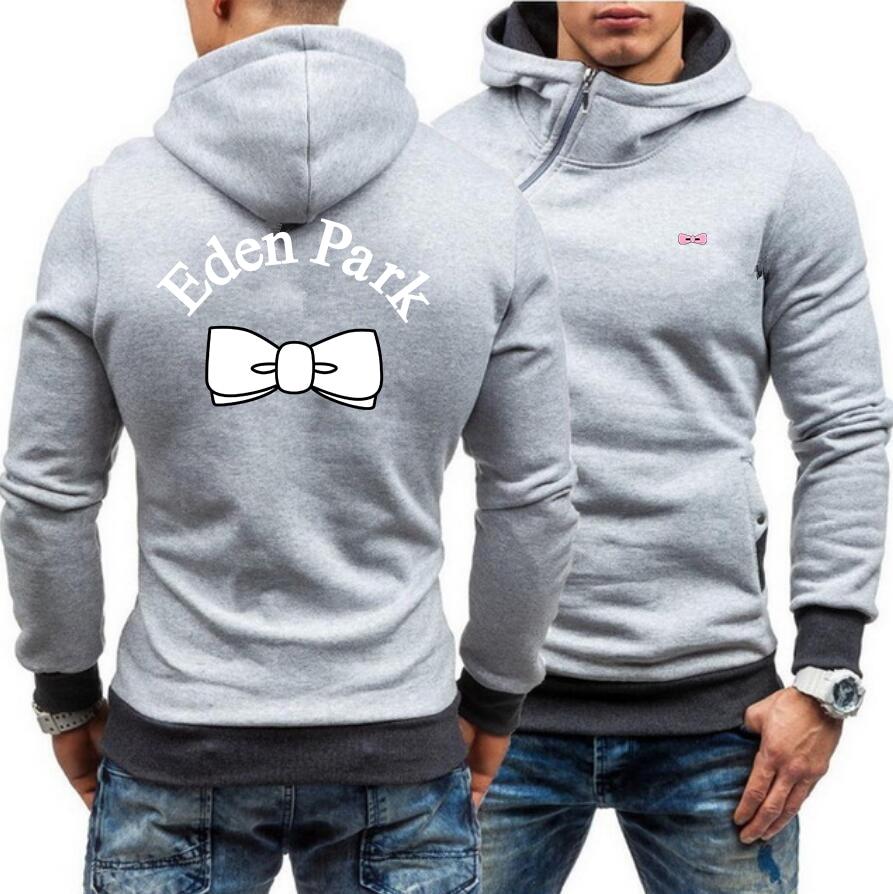 French Brand Design 1987 Eden Park Autumn Brand Men Hoodies Sweatshirts Hoodies Jacket Fashion Zipper Hoody Fashion Men Hoody