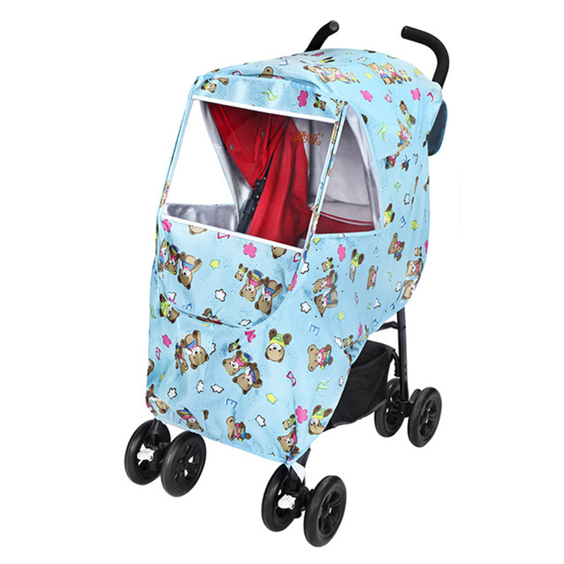 Waterproof Raincover For Stroller Prams Cart Dust Rain Cover Raincoat For Baby Stroller Pushchairs Accessories Baby Carriages