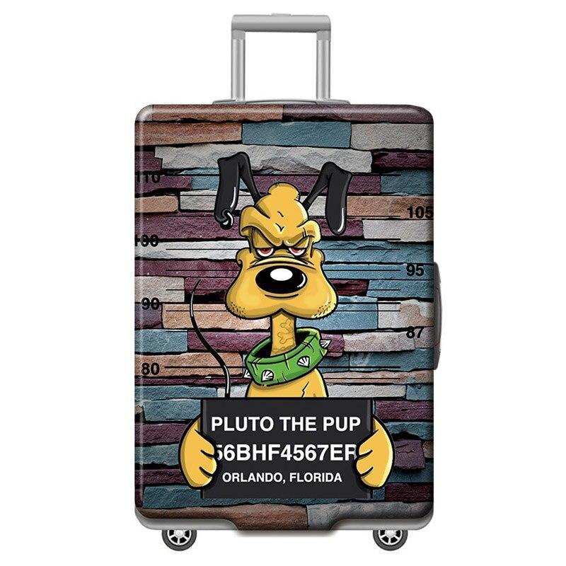 HMUNII карта мира, дизайнерский защитный чехол для багажа, Дорожный Чехол для чемодана, эластичные пылезащитные Чехлы для 18-32 дюймов, аксессуары для путешествий - Цвет: P-Luggage cover