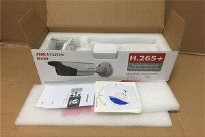 Image 4 - Камера видеонаблюдения Hikvision H.265 + POE, оригинальная инфракрасная камера с фиксированной цилиндрической камерой, 8 МП (4K), на английском языке, с разрешением от 50 м до 80 м, с функцией POE